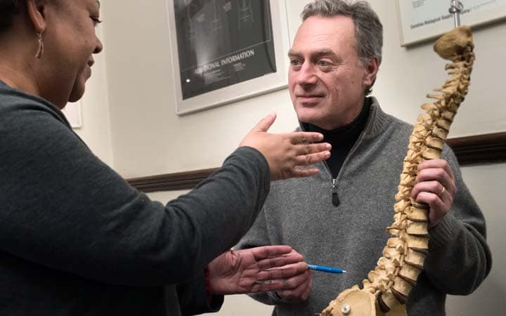 chiropractic consultation numbness legs NYC