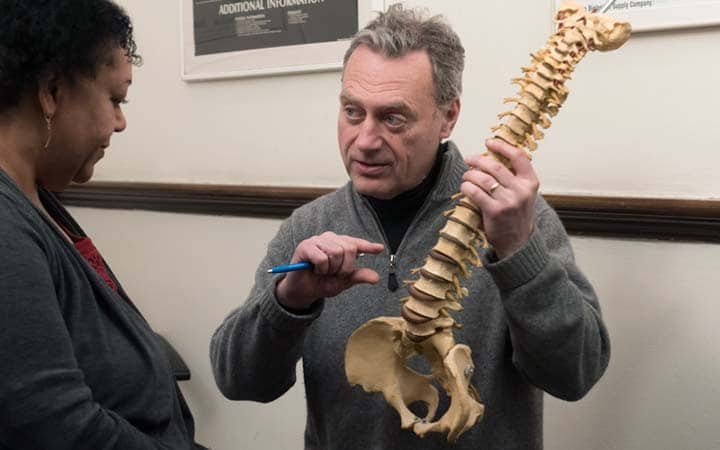 pinched nerve chiropractic explanation NYC