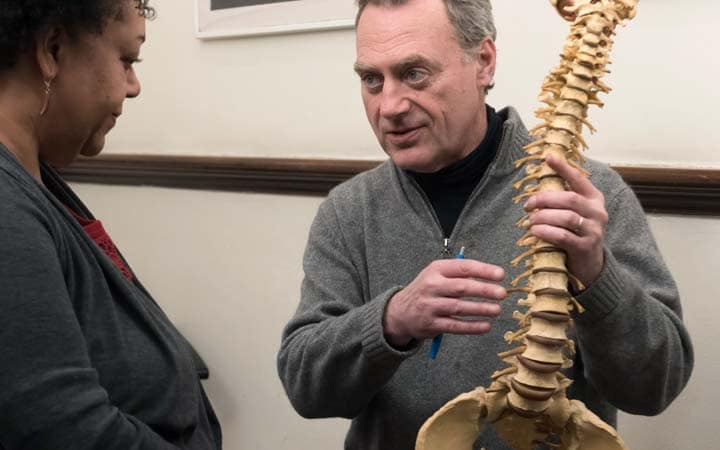 chiropractic adjustment for spinal pain NYC