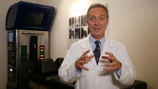 Dr. Eingorn discusses th difference between a slipped disc and a herniated disc