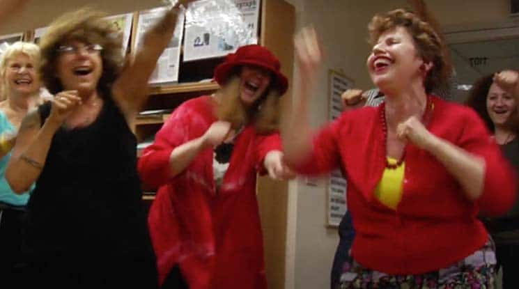 laughter yoga at better health chiropractic in New York NY